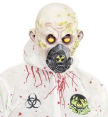 Bio Hazard Face Mask - Full Head  (00843)